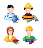 Profession people Royalty Free Stock Images