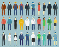 Profession People set. People avatar icons. Vector Stock Photo