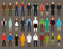 Profession People set. Vector Stock Image