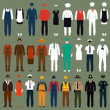 Profession people uniform, Stock Image