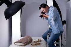 Profession of photographer concept Stock Images