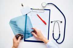 Profession of radiologist Royalty Free Stock Photo