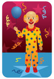 Profession set: Circus Clown Royalty Free Stock Photo