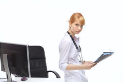 Profession, a woman doctor Royalty Free Stock Photos