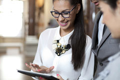 Professiona young  business people Stock Image
