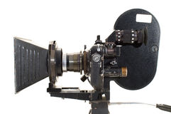 Professional 35 mm the film-chamber. Professional 35 mm the film-chamber on a white background Royalty Free Stock Photo