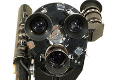Professional 35 mm the movie camera. Royalty Free Stock Photography
