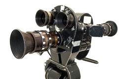 Professional 35 mm the movie camera. Stock Photography