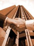 Professional agreement Stock Image