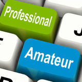 Professional Amateur Keys Show Beginner. And Experienced Royalty Free Stock Photos