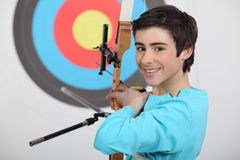 Professional archer Stock Images