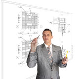 The professional architect Royalty Free Stock Image