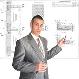 The professional architect Stock Photo