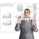 The professional architect Stock Photos