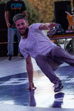 Bboy Mazzz. Festival breakdance - Breakidz. Breakidz breakdance festival has been held for 15 consecutive years and gathers of professional athletes from Stock Photo