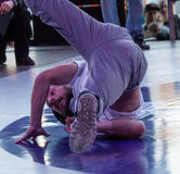 Bboy Mazzz. Festival breakdance - Breakidz. Breakidz breakdance festival has been held for 15 consecutive years and gathers of professional athletes from Royalty Free Stock Photos