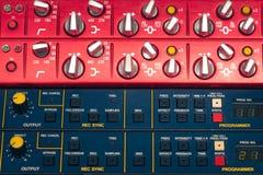 Professional audio equipment Royalty Free Stock Photo