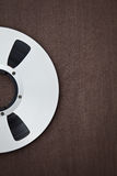 Professional audio metal reel Stock Photo