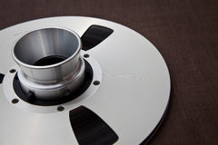 Professional audio metal reel Stock Photos