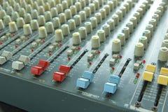 Professional Audio Mixer Stock Photography