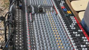 Professional audio mixer Stock Photos