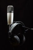 Professional audio recording equipment  Stock Photo