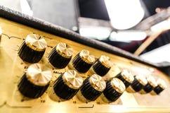 Professional audio sound equipment Royalty Free Stock Photos