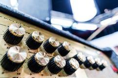 Professional audio sound equipment Stock Photography