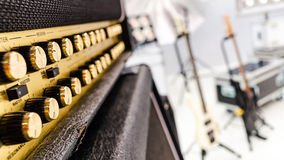 Professional audio sound equipment Royalty Free Stock Photo