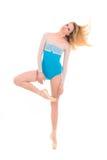 Professional ballerina on tiptoe Stock Photography
