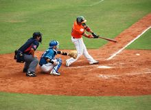 Professional Baseball Game Stock Photos