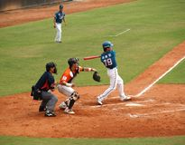Professional Baseball Game Royalty Free Stock Images