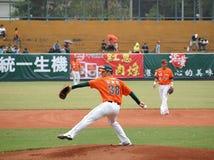 Professional Baseball Game Royalty Free Stock Photo