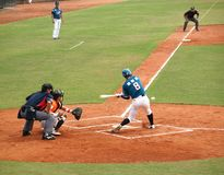 Professional Baseball Game Stock Images