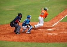 Professional Baseball Game Royalty Free Stock Photography