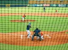 Professional Baseball Game Stock Photography