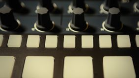 Professional beat machine device for music composer royalty free stock photography