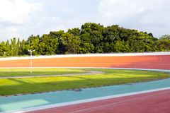 Velodrome. Professional beautiful cycle track. Velodrome Stock Images