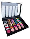 Professional beauty make up kit Royalty Free Stock Images