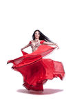 Professional Belly Dancer Stock Images