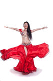 Professional belly dancer stock photos