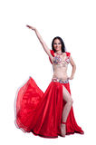 Professional belly dancer royalty free stock image