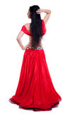 Professional belly dancer royalty free stock images