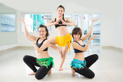 Professional belly dancers Stock Photography