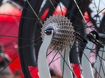 Professional bike pinion close up Royalty Free Stock Photography