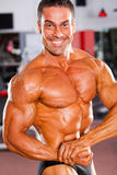 Professional bodybuilder Royalty Free Stock Photos