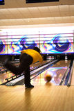 Professional bowler Royalty Free Stock Images