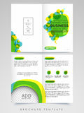 Professional Brochure, Template or Flyer design. Royalty Free Stock Photo