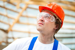 Professional builder Stock Image