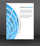 Professional business flyer template or corporate banner, cover design. Can be used for print, publishing or working presentation, design for your creative vector illustration